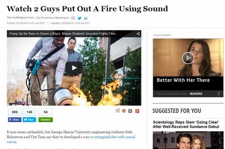 Trang tin điện tử lớn nhất nước Mỹ, Huffington Post.