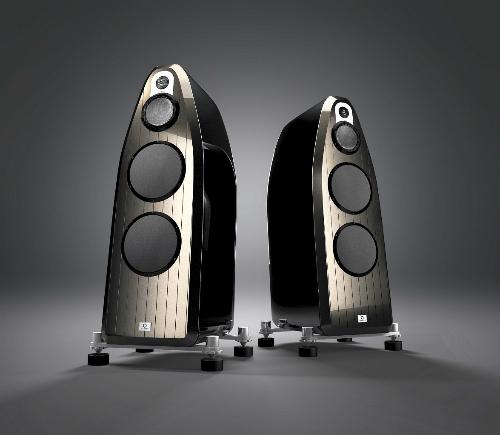 Cặp loa gốm tới từ Thuỵ Sĩ, Marten Coltrane 3, có giá 1,2 tỷ đồng.